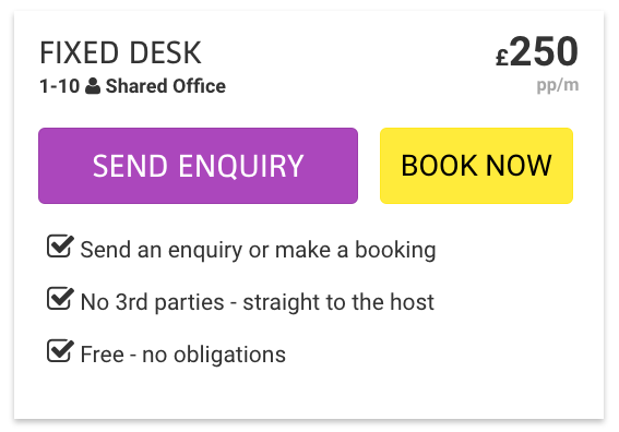 NEW: Book your office space with Hubble