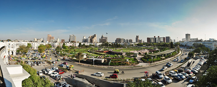Connaught Place in New Delhi: One of the World's most expensive places for offices