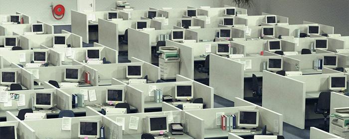 History of the Office: Cube Farm
