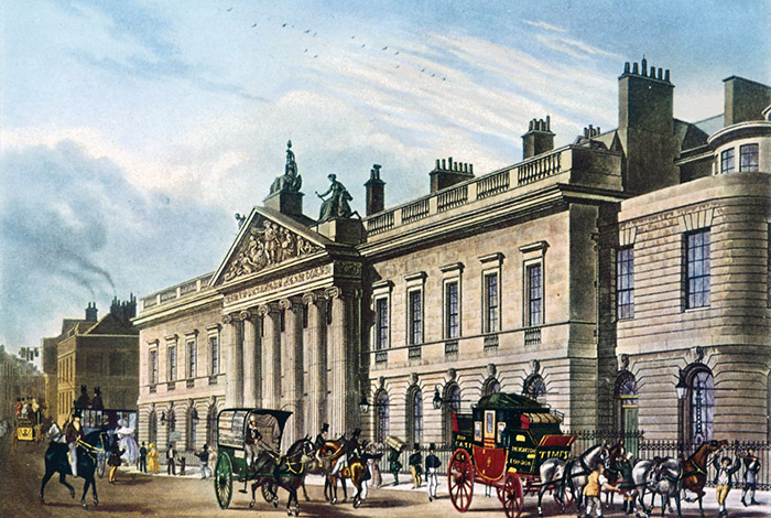 East India House in London