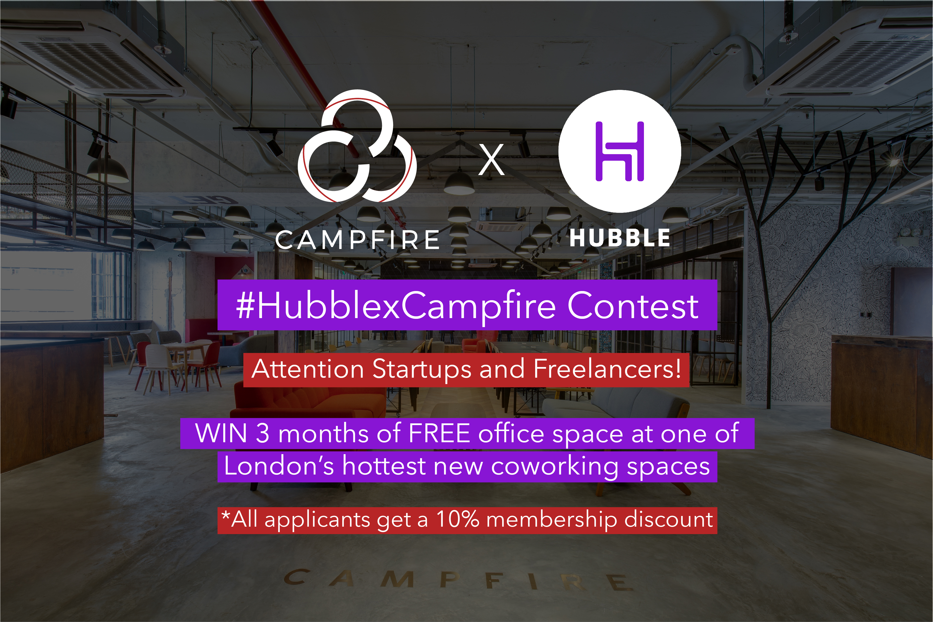 Campfire x HubbleHQ: Win A 3 Month Membership with Campfire Ignites