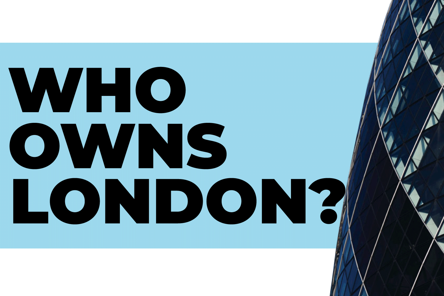 Who Owns London's Office Space?
