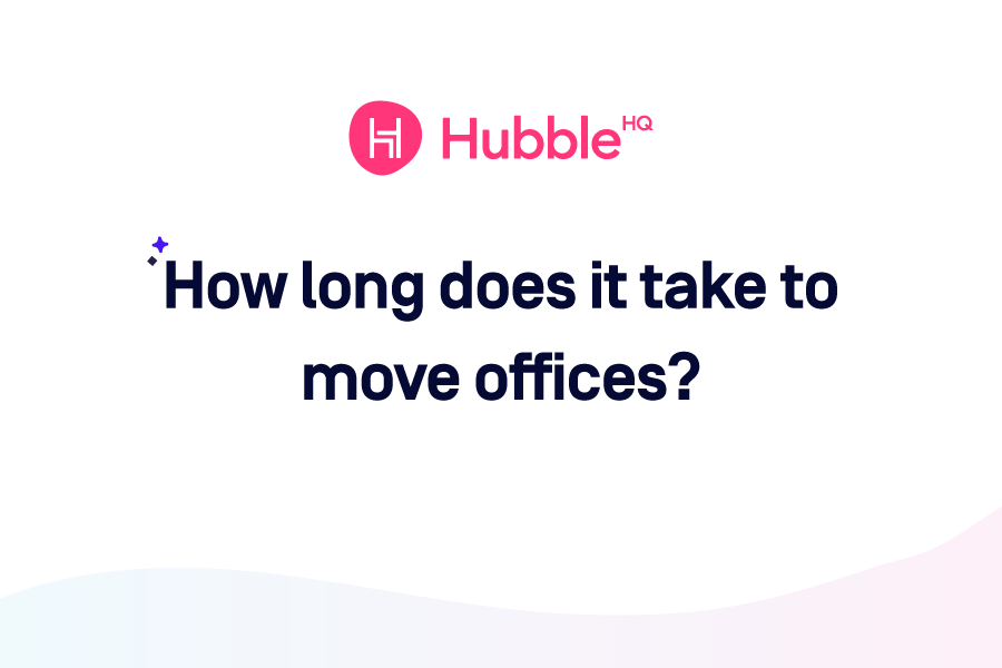 How Long Does It Take to Move Offices?