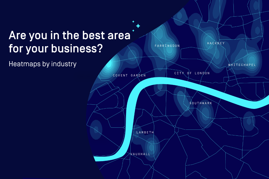Are You in the Best Area for Your Industry? [HEATMAPS]